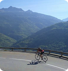 Alpine Cadence : Alpine training camps for cyclists : Time Megeve Cyclosportive
